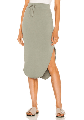 Frank & Eileen Unforgettable Skirt in Sage. Size XS, M.