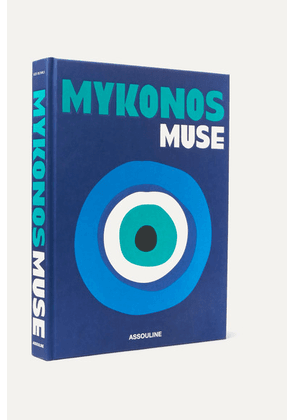 Assouline - Mykonos Muse By Lizy Manola Hardcover Book - Blue