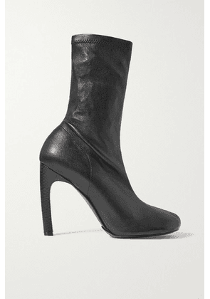 Dries Van Noten - Tronchetto Donna Leather Sock Boots - Black