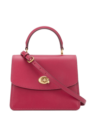Coach Parker top handle tote - Red
