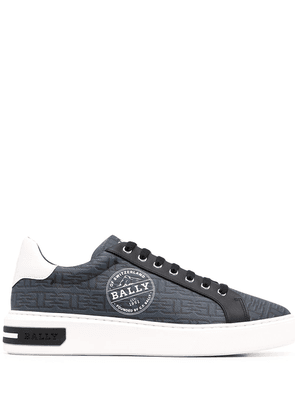 Bally Miky-Patch low-top sneakers - Blue