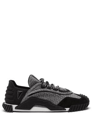 Dolce & Gabbana NS1 panelled low-top sneakers - Black