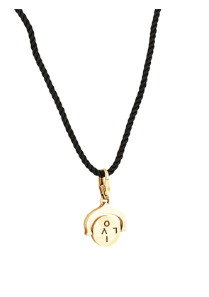Cartier pre-owned engraved 'love' necklace - Gold