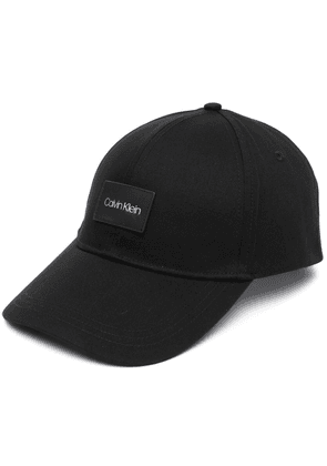 Calvin Klein organic cotton cap - Black