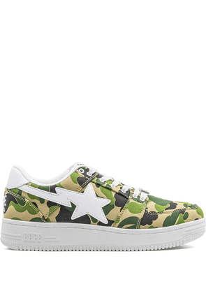 A BATHING APE® Bapesta low-top sneakers - Green