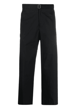 Costumein cropped straight-leg trousers - Black