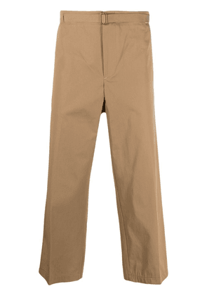 Costumein cropped straight-leg trousers - Neutrals