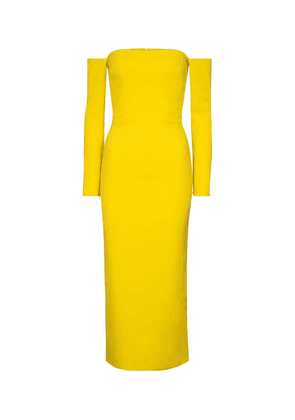 Tate stretch-crêpe midi dress