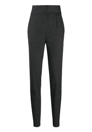 Dolce & Gabbana high-waisted tapered trousers - Grey