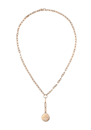 Foundrae 18kt rose gold Dream pendant necklace - Pink