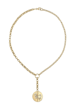 Foundrae 18kt yellow gold Resilience necklace