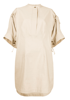 3.1 Phillip Lim knot detailed tunic dress - Brown