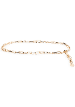 B-Low The Belt cable-link charm-detail belt - Gold