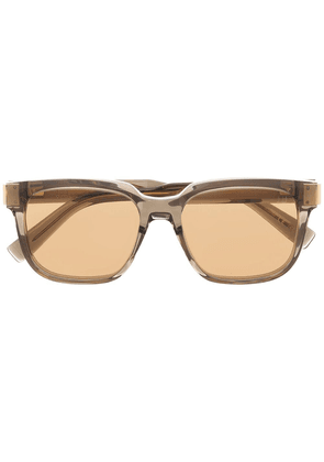 Dunhill square-frame sunglasses - Brown