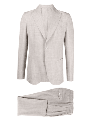 Eleventy single-breasted two-piece suit - Neutrals
