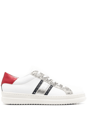 Geox Pontoise panelled sneakers - White