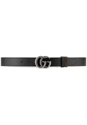 Gucci GG Marmont reversible belt - Black