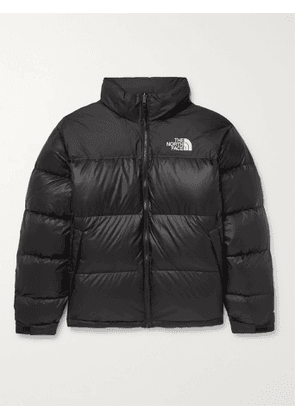 THE NORTH FACE - 1996 Retro Nuptse Quilted Nylon and Ripstop Down Jacket - Men - Black - S