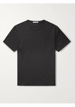 ALEX MILL - Standard Slim-Fit Slub Cotton-Jersey T-Shirt - Men - Black - L