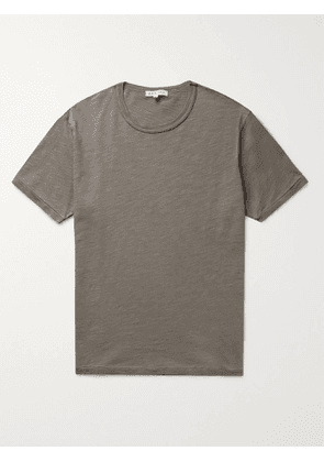 ALEX MILL - Standard Slim-Fit Slub Cotton-Jersey T-Shirt - Men - Gray - L
