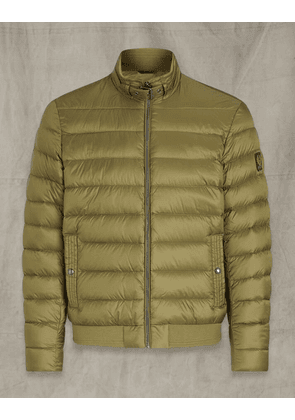 Belstaff Circuit Puffer Jacket Green UK 40 /