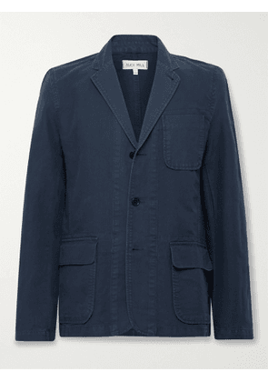 ALEX MILL - Mill Unstructured BCI Cotton-Twill Blazer - Men - Blue - XS