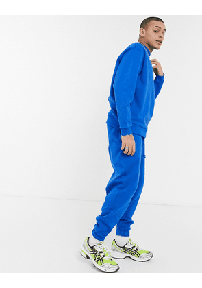 ASOS DESIGN oversized joggers in bright blue