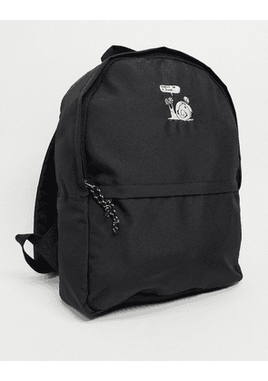 ASOS Daysocial backpack in black