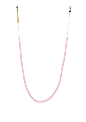 Frame Chain - Candy Rain Gold-plated Glasses Chain - Womens - Pink