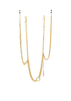 Frame Chain - Get Hooky Gold-plated Glasses Chain - Womens - Gold