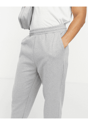 ASOS DESIGN organic oversized joggers in grey marl