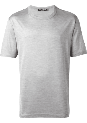 Dolce & Gabbana plain T-shirt - Grey