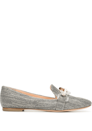 AGL Manola leather loafers - Grey