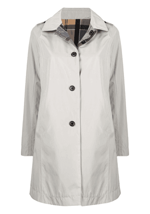 Barbour reversible single-breasted coat - Neutrals