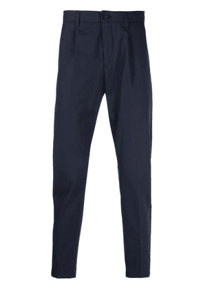 Department 5 slim-cut cropped trousers - Blue