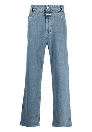 Closed mid-rise straight-leg jeans - Blue