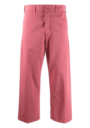 Department 5 cropped-leg trousers - Pink