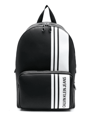 Calvin Klein Campus logo-print backpack - Black