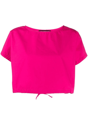 Department 5 cropped cotton blouse - Pink