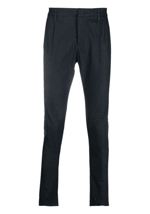 Dondup skinny tailored cotton trousers - Blue