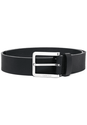 Calvin Klein Essential Plus leather belt - Black