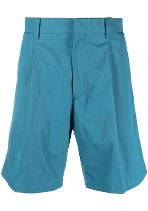 Costumein knee-length tailored shorts - Blue