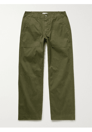 ALEX MILL - Field Stretch BCI Cotton-Twill Chinos - Men - Green - UK/US 28