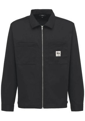 Zip-up Work Shirt
