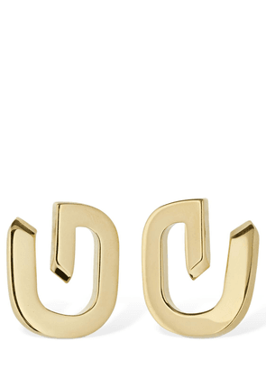 G Link Stud Earrings