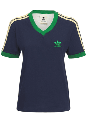 Wales Bonner 70'2 V-neck T-shirt