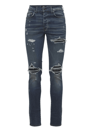 15cm Mx1 Suede Cotton Denim Jeans