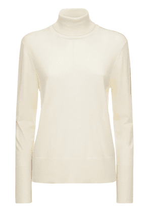 Lightweight Cashmere & Silk Knit Sweater