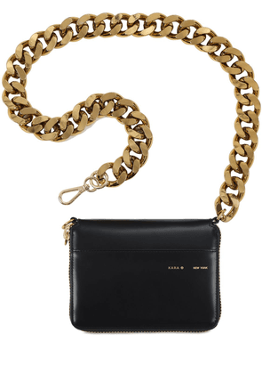 Large Leather Chain Wallet