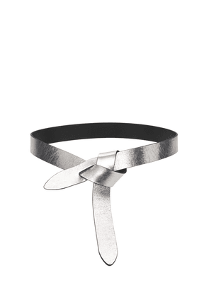30mm Lecce Knot Leather Belt